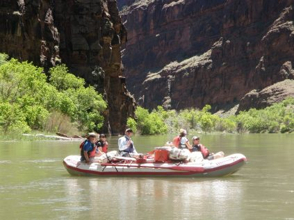 Rafting on the Green River